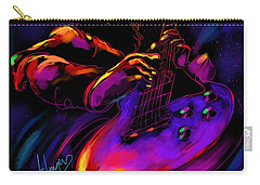 Untitled Guitar Art Carry-all Pouch