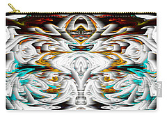 Carry-all Pouch featuring the digital art Untitled Series 992.042212 by Kris Haas