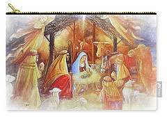 Unto Us A Savior Is Born Carry-all Pouch