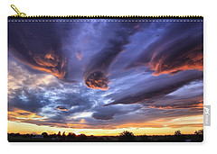 Alien Cloud Formations Carry-all Pouch