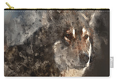 Carry-all Pouch featuring the digital art Unwavering Loyalty by Elaine Ossipov