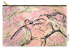 Unwinding Woman  Carry-all Pouch