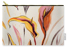 Up - Abstract Flower Painting Carry-all Pouch