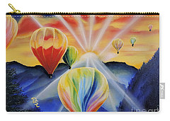 Up And Away Carry-all Pouch by Dianna Lewis