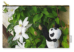 Carry-all Pouch featuring the photograph Up And Up And Up by Ausra Huntington nee Paulauskaite