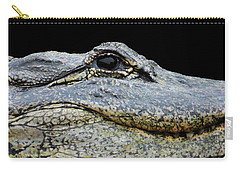 Up Close Not Comfortable Carry-all Pouch by Rosalie Scanlon