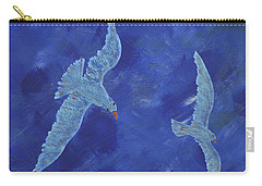 Carry-all Pouch featuring the painting Up In The Sky by Manuel Sueess