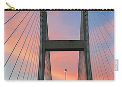 Up On The Bridge Carry-all Pouch