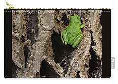 Carry-all Pouch featuring the photograph Up The Corporate Ladder by I'ina Van Lawick