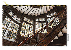 Up The Iconic Rookery Building Staircase Carry-all Pouch
