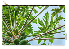 Up The Papaya Carry-all Pouch
