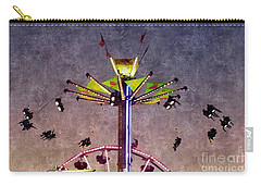 Up, Up And Away  Carry-all Pouch by Christy Ricafrente