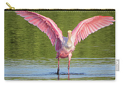 Up, Up And Away Sanibel Spoonbill Carry-all Pouch