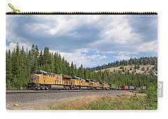 Up2650 Westbound From Donner Pass Carry-all Pouch