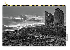 Carry-all Pouch featuring the photograph Upcomming Myth Bw #e8 by Leif Sohlman