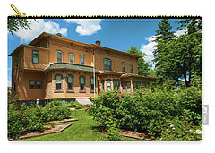 Carry-all Pouch featuring the photograph Upham Mansion by Trey Foerster