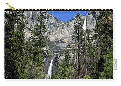 Upper And Lower Yosemite Falls Carry-all Pouch