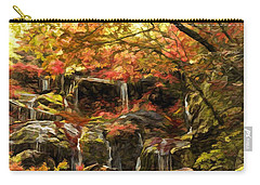 Upper Catawba Falls North Carolina Carry-all Pouch