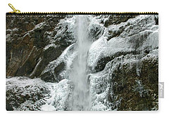 Upper Multnomah Falls Ice Carry-all Pouch