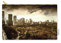 Upper West Side Of New York In Spring Carry-all Pouch