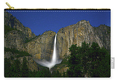 Upper Yosemite Falls Under The Stairs Carry-all Pouch