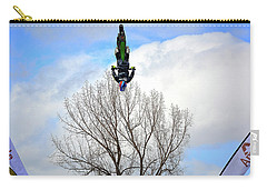 Carry-all Pouch featuring the photograph Upside Down And All Around by Barbara Dudley
