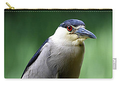 Upstanding Heron Carry-all Pouch