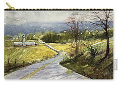 Upstate Landscape Carry-all Pouch by Judith Levins