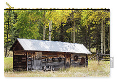 Uptop A Colorado Ghost Town Carry-all Pouch by Nadja Rider