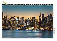 Uptown And Midtown At Sunrise Carry-all Pouch