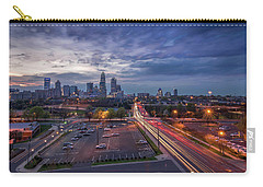 Uptown Charlotte Rush Hour Carry-all Pouch by Serge Skiba