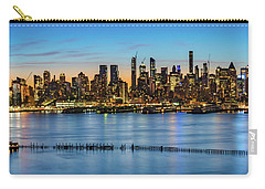Uptown Skyline At Sunrise Carry-all Pouch