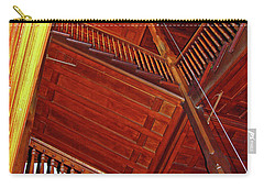 Carry-all Pouch featuring the photograph Upward Vertigo by Lynda Lehmann