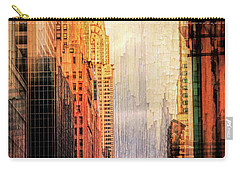 Urban Abstract Carry-all Pouch by John Rivera