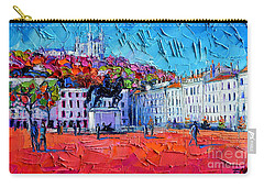Urban Impression - Bellecour Square In Lyon France Carry-all Pouch