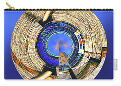 Carry-all Pouch featuring the digital art Urban Order by Wendy J St Christopher