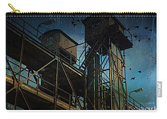 Carry-all Pouch featuring the photograph Urban Past by Ivana Westin