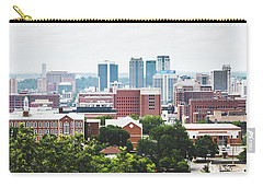 Carry-all Pouch featuring the photograph Urban Scenes In Birmingham  by Shelby Young