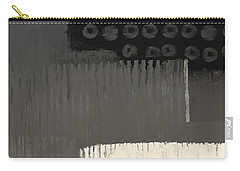 Carry-all Pouch featuring the mixed media Urbanized by Eduardo Tavares