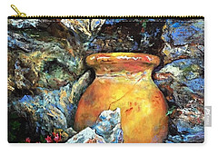 Urn Among The Rocks Carry-all Pouch