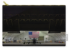 Us Air Force Eq 4 Global Hawk Assigned To The 380th Air Expeditionary Wing Await Routine Maintenance Carry-all Pouch