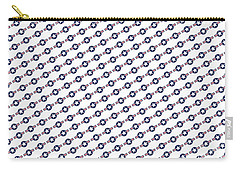 Us Airforce Style Insignia Pattern Diag Version Carry-all Pouch