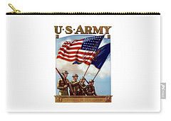 Us Army -- Guardian Of The Colors Carry-all Pouch