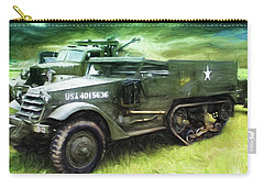 U.s. Army Halftrack Carry-all Pouch