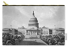 Us Capitol Building Carry-all Pouch by War Is Hell Store