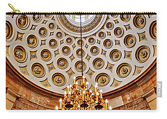 Carry-all Pouch featuring the photograph Us Capitol Rotunda Washington Dc by Susan Candelario