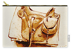 Us Cavalry Saddle 1869 Carry-all Pouch by Padre Art
