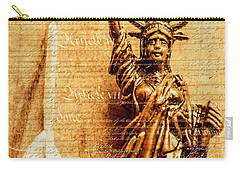Us Constitution Carry-all Pouch by Jorgo Photography - Wall Art Gallery