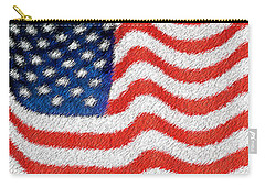 U.s. Flag Carry-all Pouch