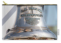 Us Frigate Bell Carry-all Pouch by Caroline Stella